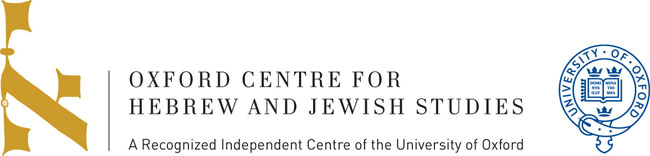 oxford centre for hebrew and jewish studies
