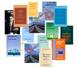 Rabbi Louis Jacobs books