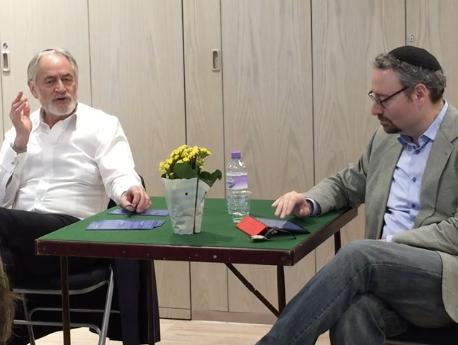 Rabbi Naftali Brawer and Rabbi Jeremy Rosen