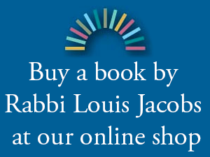 Buy a book by Rabbi Louis Jacobs from our online shop